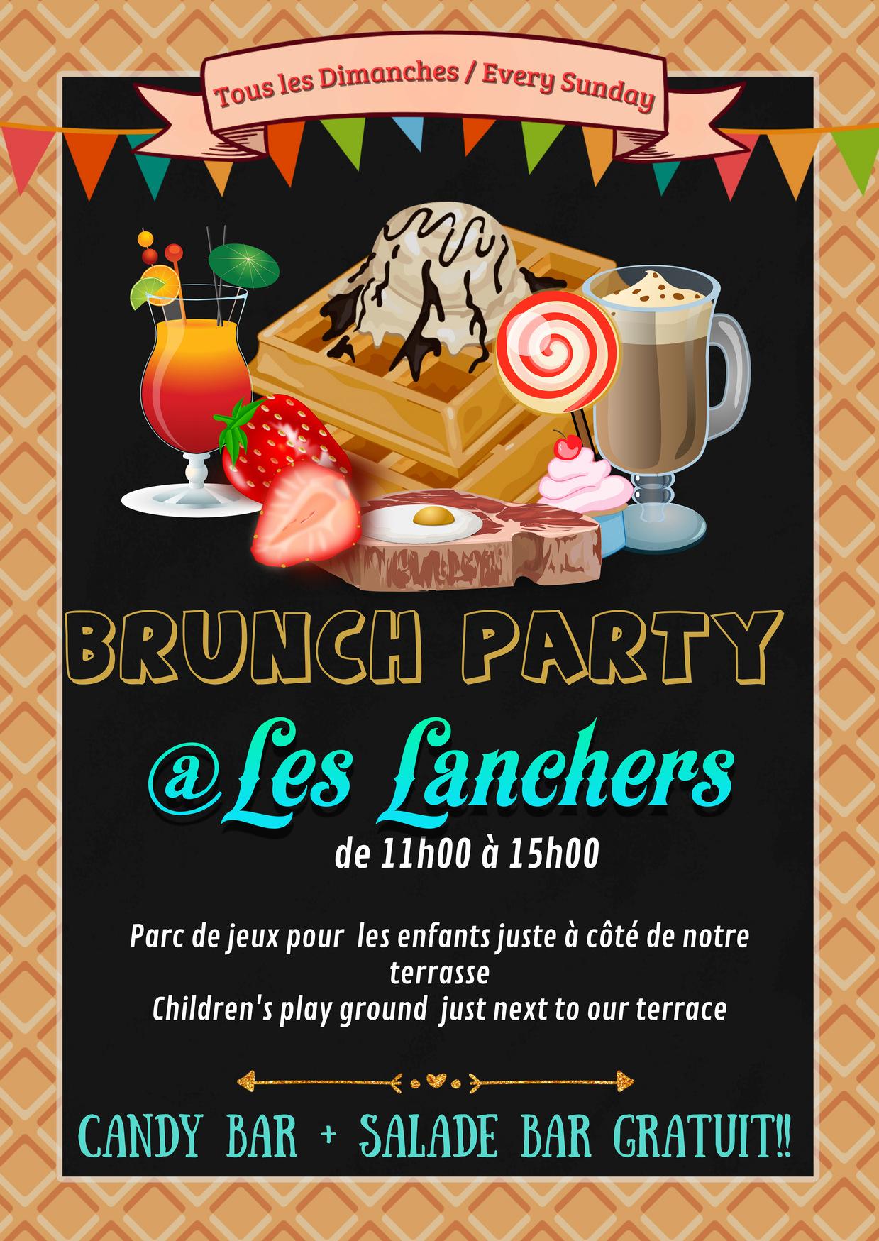 Best restaurant in Chamonix - Brunch Party Sunday